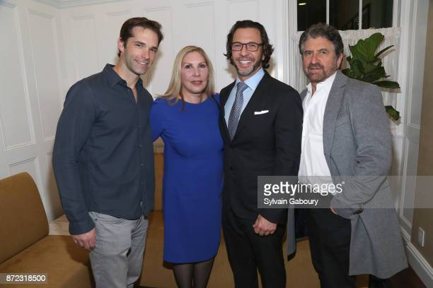 Dr Brian Kantor Wendy Lewis Dr Andrew Jacono and Dr Marc Lowenberg attend Dr Andrew Jacono's Park Avenue Aesthetic Surgery Center Unveiling on...