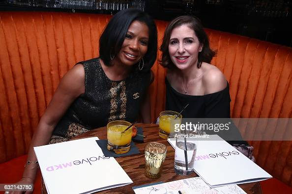 Dr Cheryl Burgess and Michelle Barrineau Director of Marketing of Fillers for Merz North America attend #TBT Throw Back Thursday with Radiesse on...