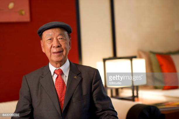 Dr Chewoo Lui attends an interview at the Banyan Tree hotel two days before the Galaxy Macau Grand Opening on Saturday May 14 2011