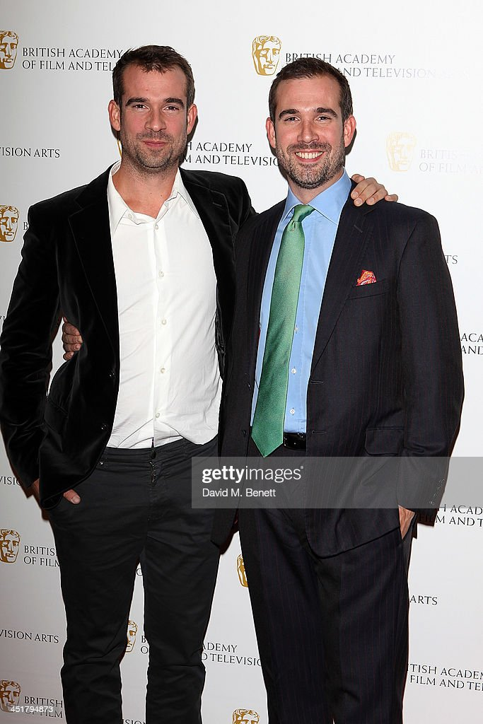 Dr Chris van Tulleken and Dr Xand van Tulleken attend the British Academy Children's Awards at the London Hilton on November 24, 2013 in London, England.