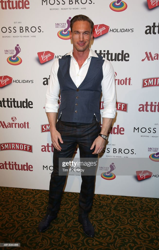 Dr Christian Jessen attends the 20th birthday party of Attitude Magazine at The Grosvenor House Hotel on March 29, 2014 in London, England.