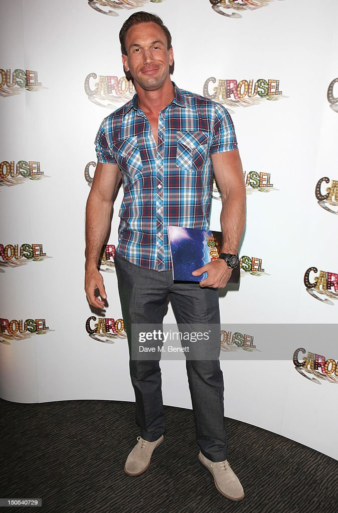 Dr Christian Jessen attends the 'Carousel - Press Night - Curtain Call' at Barbican Theatre on August 20, 2012 in London, England.