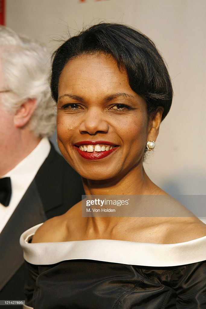 Dr. <a gi-track='captionPersonalityLinkClicked' href=/galleries/search?phrase=Condoleezza+Rice&family=editorial&specificpeople=157540 ng-click='$event.stopPropagation()'>Condoleezza Rice</a> during Time Magazine 100 Most Influential People 2006 - Party at Jazz at Lincoln Center in New York, New York, United States.