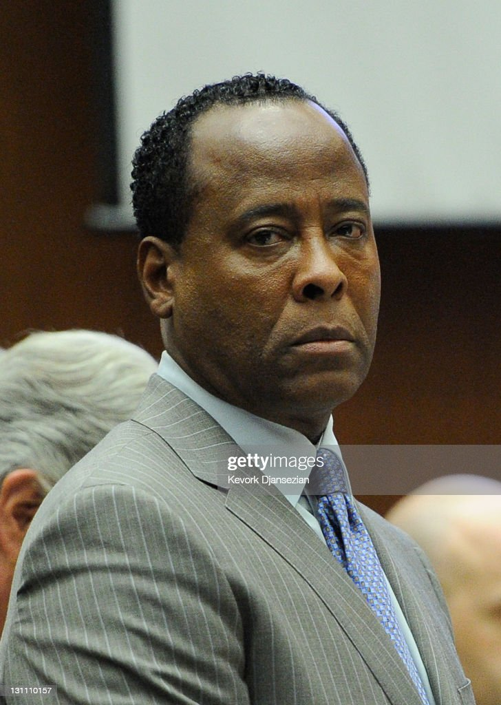 Dr. Conrad Murray waits to leave the courtroom for the day during the final stage of Conrad Murray's defense in his involuntary manslaughter trial in the death of singer Michael Jackson at the Los Angeles Superior Court on November 1, 2011 in Los Angeles, California. Dr. Murray decided not to testify for his defense. Murray has pleaded not guilty and faces four years in prison and the loss of his medical licenses if convicted of involuntary manslaughter in Jackson's death.