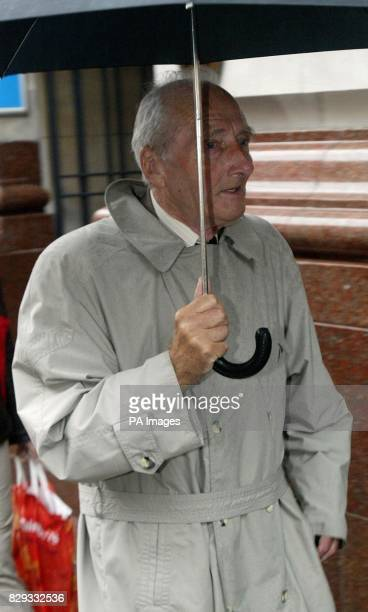 Dr David Bee a retired pathologst arrives at the GMC in Manchester An investigation is being held into a post mortem examination on one of Dr Harold...