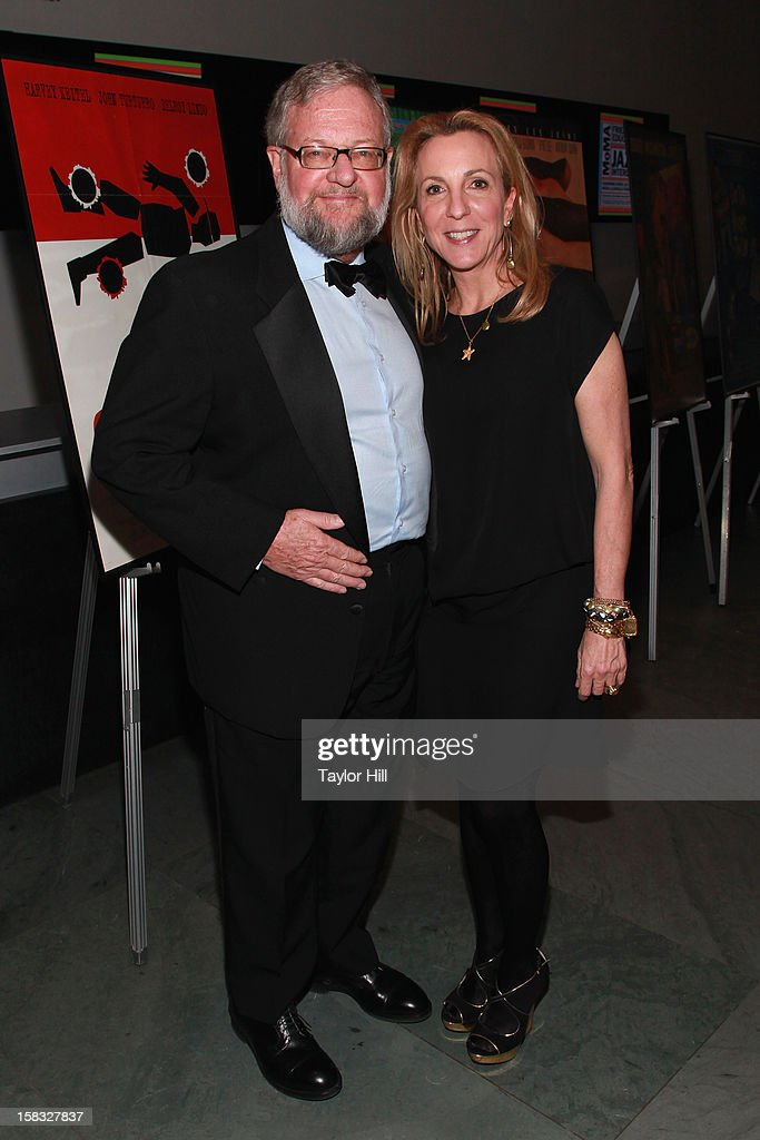 Dr. David Rockefeller, Jr, and Susan Cohn Rockefeller attend The Museum of Modern Art's Jazz Interlude Gala After Party at MOMA on December 12, 2012 in New York City.