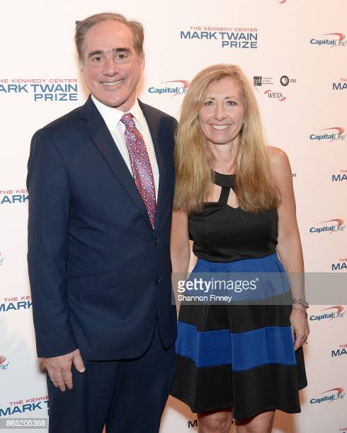 Dr David Shulkin Secretary of Veterans Affairs and Dr Merle Bari attend the 2017 Mark Twain Prize for American Humor at The Kennedy Center on October...