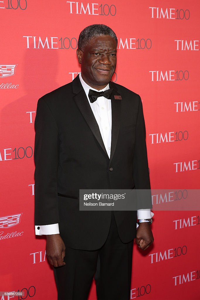 Dr. <a gi-track='captionPersonalityLinkClicked' href=/galleries/search?phrase=Denis+Mukwege&family=editorial&specificpeople=5127888 ng-click='$event.stopPropagation()'>Denis Mukwege</a> attends the 2016 Time 100 Gala at Frederick P. Rose Hall, Jazz at Lincoln Center on April 26, 2016 in New York City.