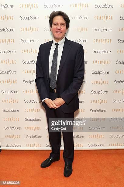 Dr Dennis Gross attends the 'SculpSure Day with the Denim Doctor' hosted by celebrity style expert Carson Kressley at 3x1 on January 17 2017 in New...