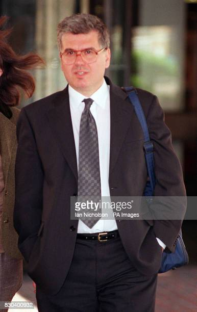 Dr Dimitri Padelis at Southwark Crown Court in London where he is accused of defrauding the NHS * 17/4/01 A heartless doctor thought to have carried...