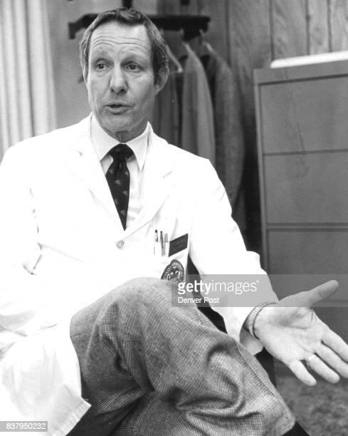 Dr Dodd K Greenleaf Chief of Staff at VA Hospital Credit Denver Post