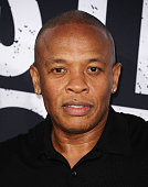 Dr Dre attends the premiere of 'Straight Outta Compton' at Microsoft Theater on August 10 2015 in Los Angeles California