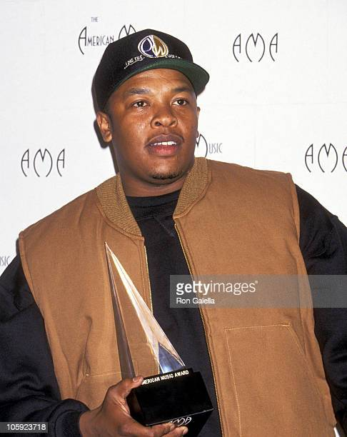 Dr Dre during 21st Annual American Music Awards at Shrine Auditorium in Los Angeles California United States