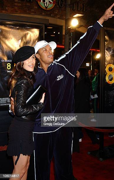 Dr Dre guest during '8 Mile' Westwood Premiere at Mann Village Theatre in Westwood California United States
