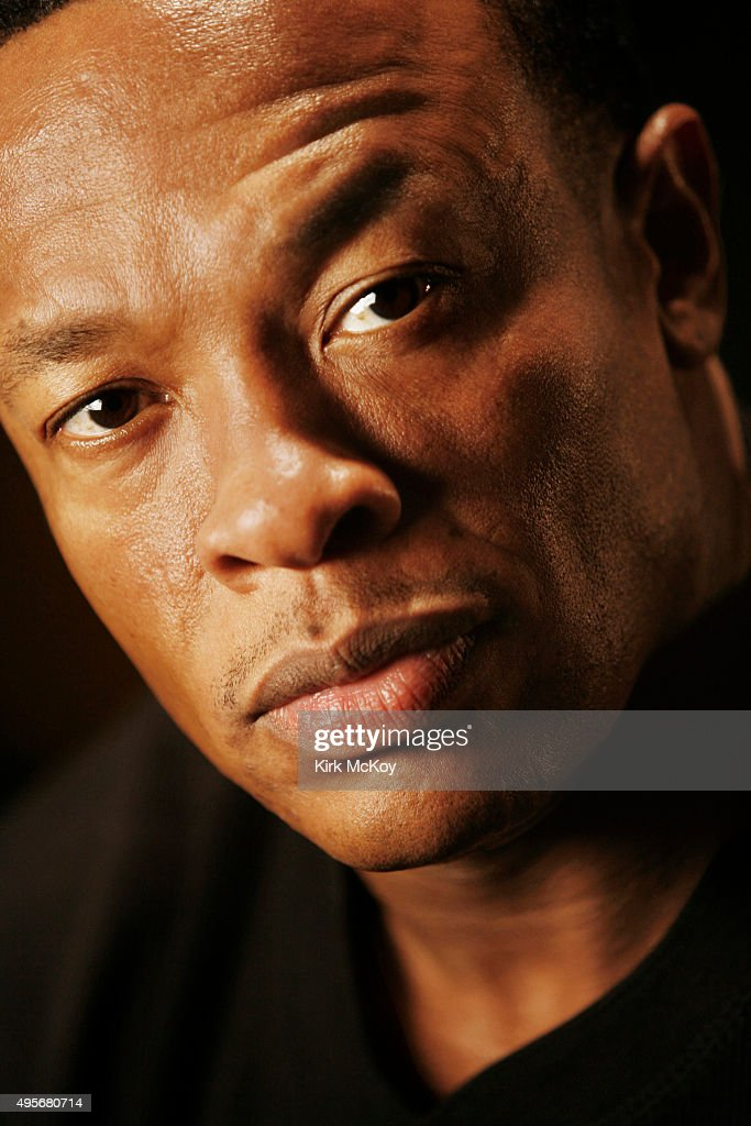 Dr. Dre is photographed for Los Angeles Times on August 30, 2007 in Los Angeles, California. PUBLISHED IMAGE.