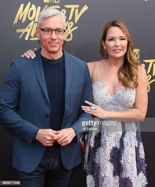 Dr Drew and Susan Pinsky attend the 2017 MTV Movie and TV Awards at The Shrine Auditorium on May 7 2017 in Los Angeles California
