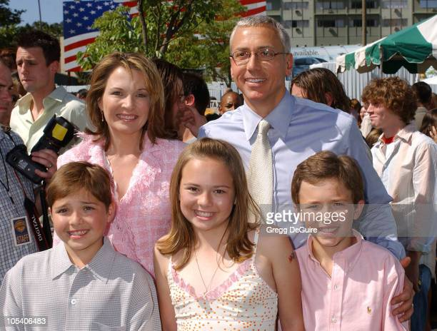Dr Drew Pinsky and family during 'New York Minute' World Premiere Arrivals at Grauman's Chinese in Hollywood California United States