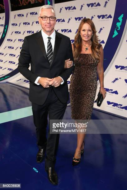 Dr Drew Pinsky and Susan Pinsky attend the 2017 MTV Video Music Awards at The Forum on August 27 2017 in Inglewood California