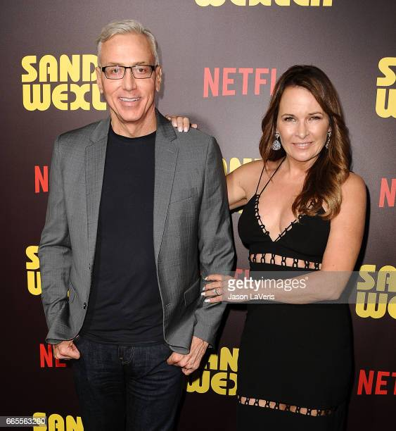 Dr Drew Pinsky and wife Susan Pinsky attend the premiere of 'Sandy Wexler' at ArcLight Cinemas Cinerama Dome on April 6 2017 in Hollywood California