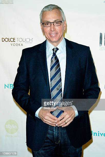 Dr Drew Pinsky arrives at Hollywood Arts Dream Awards at The Music Box Theatre Hollywood on October 9 2011 in Hollywood California
