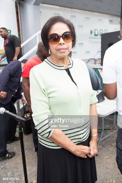 Dr E Faye Williams attends Dick Gregory's Parade Of Life at The Legendary Howard Theatre on September 17 2017 in Washington District of Columbia