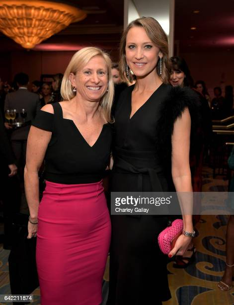 Dr Elisa Port and chair of the BCRF Kinga Lampert attend WCRF's 'An Unforgettable Evening' presented by Saks Fifth Avenue at the Beverly Wilshire...