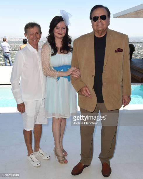 Dr Eric Fuglier Dee Dee Sorvino and Paul Sorvino attend Paul Dee Dee Sorvino celebrate their Bestselling Book 'Pinot Pasta Parties' in the Hollywood...