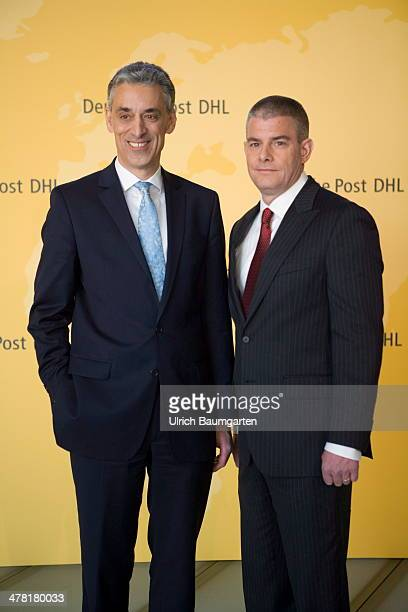 Dr Frank Appel Chief Executive Officer of German Post/DHL and John Gilbert Member of the Board and responsible for Supply Chain before the start of...