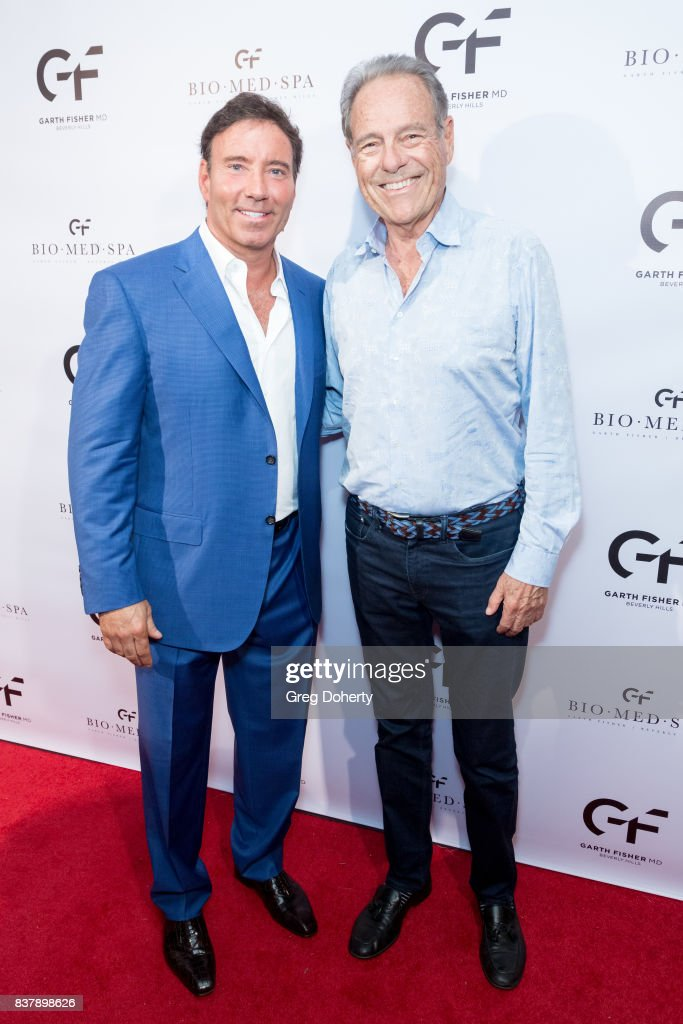 Dr. Garth Fisher and Alan Kaderi attend the Official Launch Party Of Dr. Garth Fisher's BioMed Spa at Garth Fisher MD on August 22, 2017 in Beverly Hills, California.
