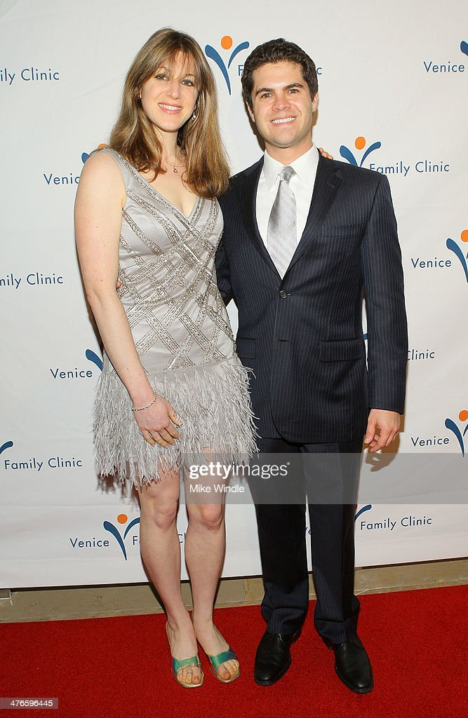 Dr. Gelsey Goodstein (L) and Steve Eisenman attend the Venice Family Clinic's 32nd Annual Silver Circle Gala held at The Beverly Hilton Hotel on March 3, 2014 in Beverly Hills, California.