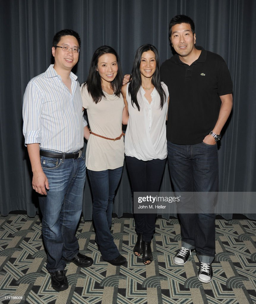 Dr. Gene C. Lie, Dr. Edna Ma. Documentary Director of 'Gods and Guys' Lisa Ling and Paul Song MD attend the screening of 'Gods and Gays' a documentary by Lisa Ling at the Carey Grant Theatre at the Sony Pictures Studios on June 27, 2013 in Culver City, California.