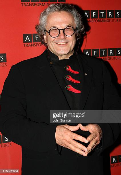 Dr George Miller during AFTRS Inaugural Gala April 16 2007 at Doltone House in Sydney NSW Australia
