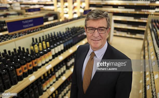 TORONTO ON OCTOBER 31 Dr George Soleas is the new CEO of the LCBO He is seen in the LCBO store on Queen's Quay vintages section for a feature The...