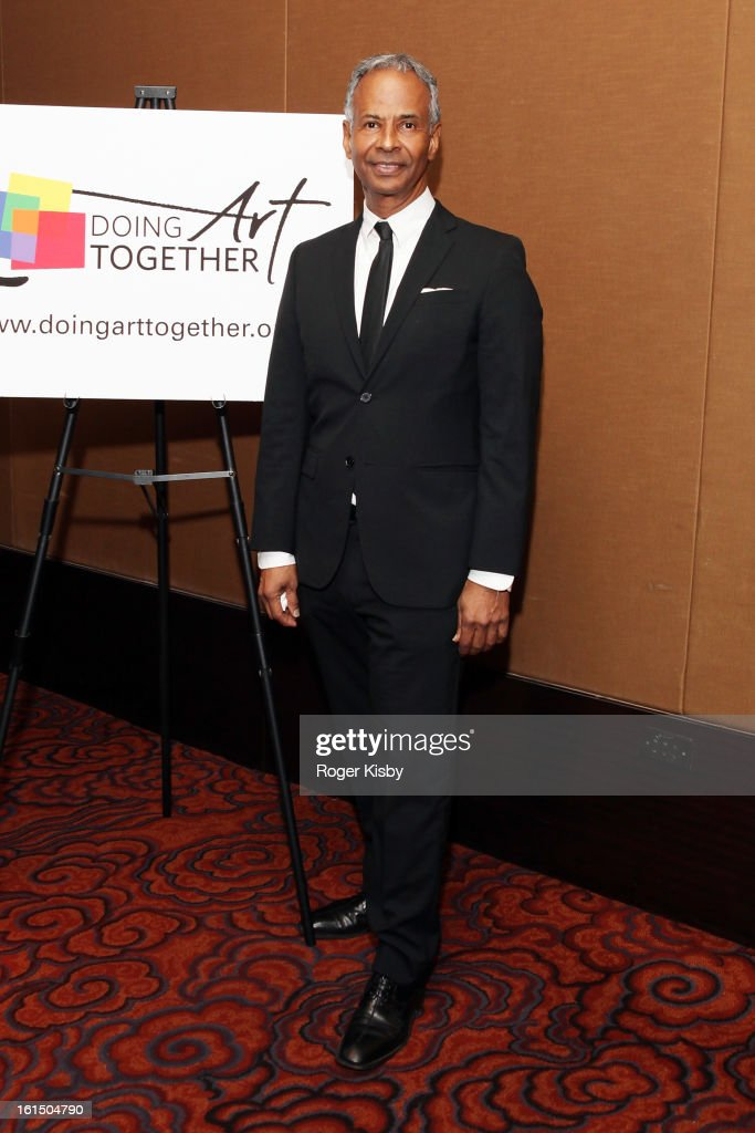 Dr. George Williams, D.M.D. attends Doing Art Together honors Swizz Beats and Dr. George Williams at Mandarin Oriental Hotel on February 11, 2013 in New York City.