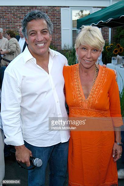 Dr Gerald Curatola and Lisa de Kooning attend UNC'S Celebrating The Creative Spirit at East Hampton on September 1 2007