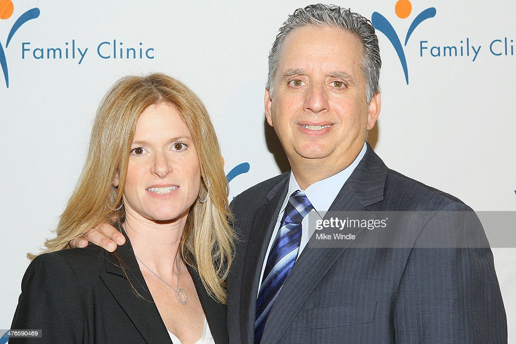 Dr. Harley Liker (R) and wife Julie Liker attend the Venice Family Clinic's 32nd Annual Silver Circle Gala held at The Beverly Hilton Hotel on March 3, 2014 in Beverly Hills, California.