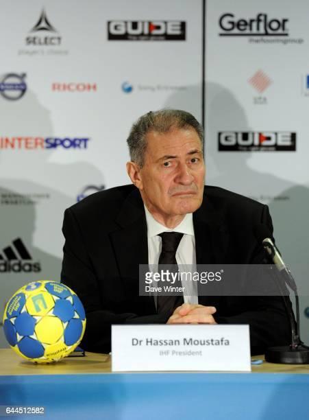 Dr Hassan MOUSTAFA France / Danemark Finale Championnat du Monde Handball Malmoe Photo Dave Winter / Icon Sport
