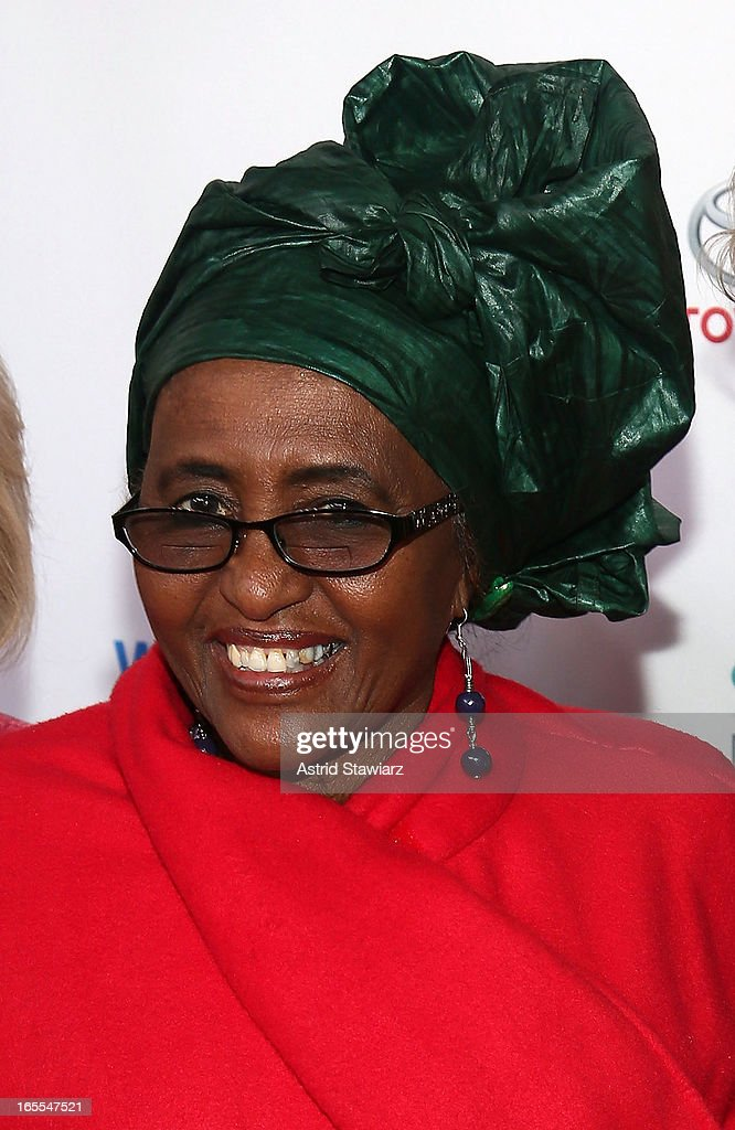 Dr. Hawa Abdi attend Women in the World Summit 2013 on April 4, 2013 in New York, United States.