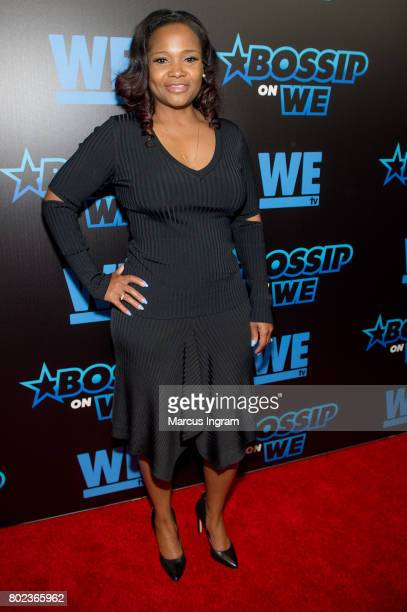 Dr Heavenly Kimes attends 'Bossip On WE' Atlanta launch celebration at Elevate at W Atlanta Midtown on June 27 2017 in Atlanta Georgia