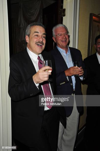 Dr Howard Koplewicz and Howard Katz attend Dinner party to celebrate The Child Mind Institute's 2010 Adam Jeffrey Katz Memorial Lecture Series at The...