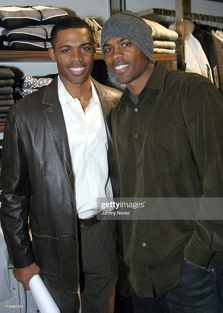 Dr. Ian Smith and His Twin Brother during Sean John Celebrates the Launch of Sean John Collection and Sean John Tailoring at Sean John Store 5th Store in New York City, New York, United States.