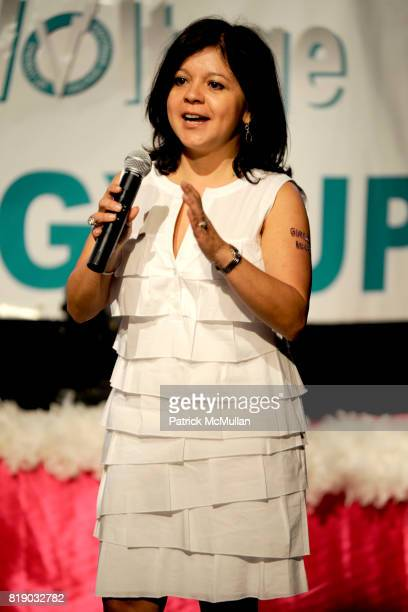 Dr Ileana Vargas attends Katie Couric launches EnergyUporg at Young Women's Leadership School 105 East 106th St on May 6 2010 in New York City
