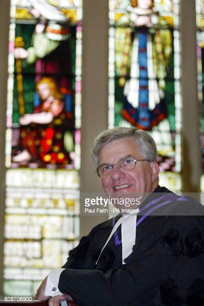 Dr Ivan McKay the new Moderator of the Presbyterian Church in Ireland who offered tonight to do all he could to rebuild trust between Northern...