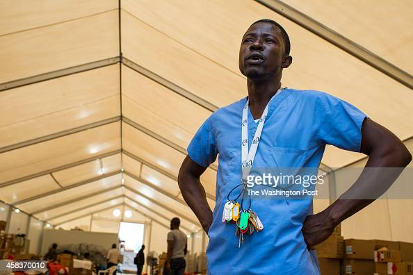 Dr J Soka Moses is Director of the new Ebola Treatment Unit now called MOD which is located on an old unfinished Ministry of Defense property on...