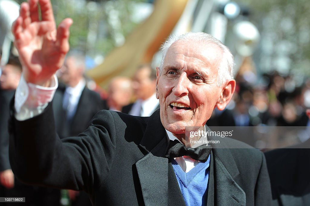 Dr. Jack Kevorkian arrives at the 62nd Annual Primetime Emmy Awards held at the Nokia Theatre L.A. Live on August 29, 2010 in Los Angeles, California.