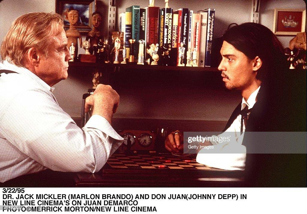 Dr Jack Mickler And Don Juan In New Line Cinema's Don Juan Demarco