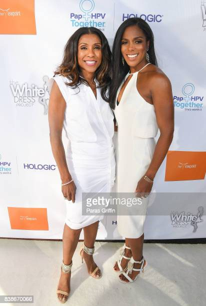 Dr Jackie Walters and Dr Jessica Shepherd at 'The Immortal Life Of Henrietta Lacks' Viewing Panel Discussion with Renee Elise Goldsberry Dr Jessica...