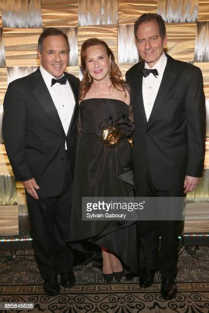 Dr James R Baker Jr Sharyn Mann and Charles Masson attend The 20th Anniversary Food Allergy Ball Benefiting Food Allergy Research Education at The...