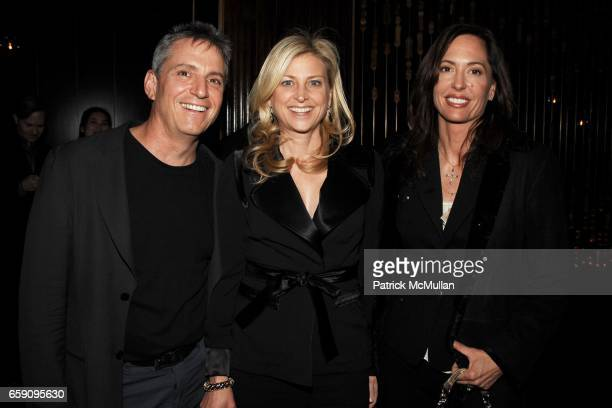Dr Jamie Grifo Cynthia Lufkin and Anne Grifo attend Tribeca Film Festival premiere party for 'Whatever Works' at Royalton Hotel on April 22 2009 in...