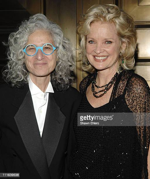 Dr Jane Aronson and Christine Ebersole attend 3rd Annual Worldwide Orphans Benefit Gala on October 15 2007 at Cipriani Wall Street in New York City